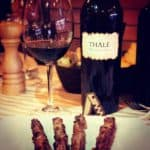 Degustando il Montepulciano d'Abruzzo Thalè 2010, Casal Thaulero