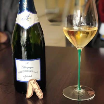 Degustando lo Champagne Alexandre Filaine Brut