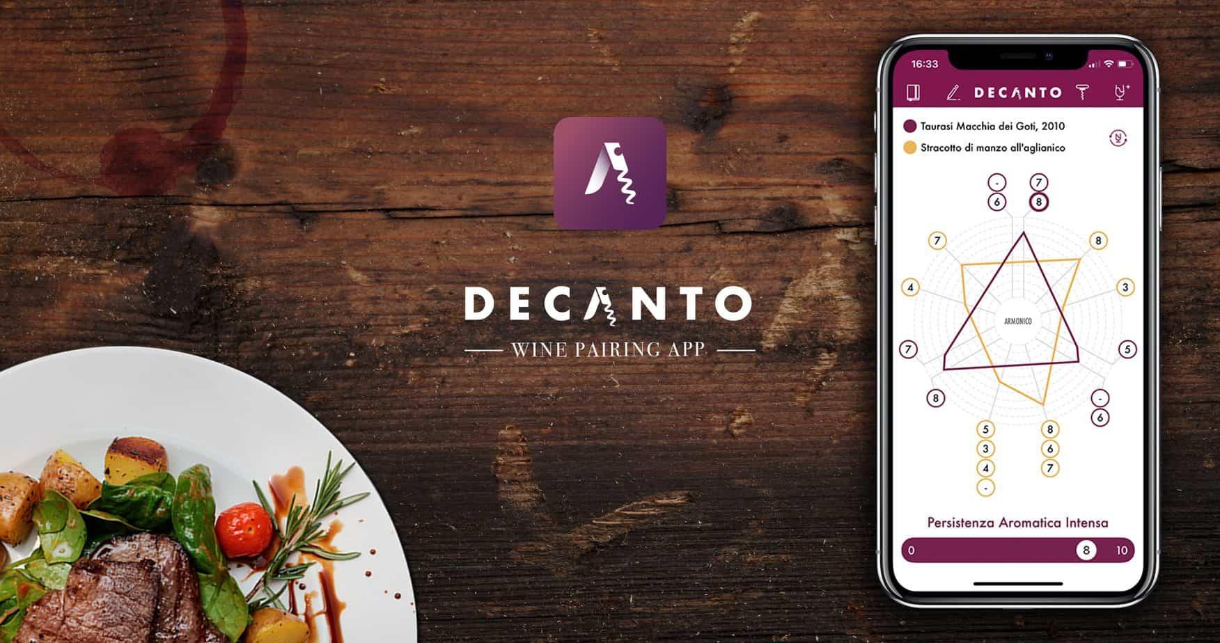 Decanto Wine Pairing App Cover Image