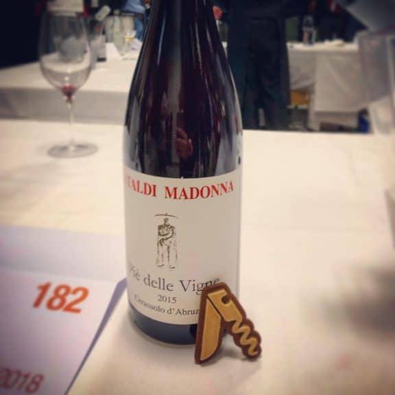 Degustazione del vino Cerasuolo d'Abruzzo Piè delle Vigne 2015, Cataldi Madonna