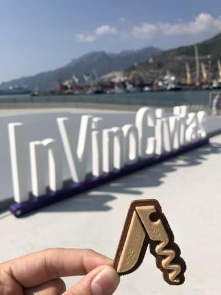 Decanto ad In Vino Civitas, il salotto del vino presso la stazione marittima di Salerno