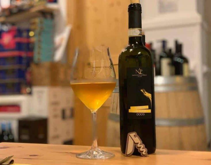Degustazione del Greco di Tufo di Nardone e Piccirillo