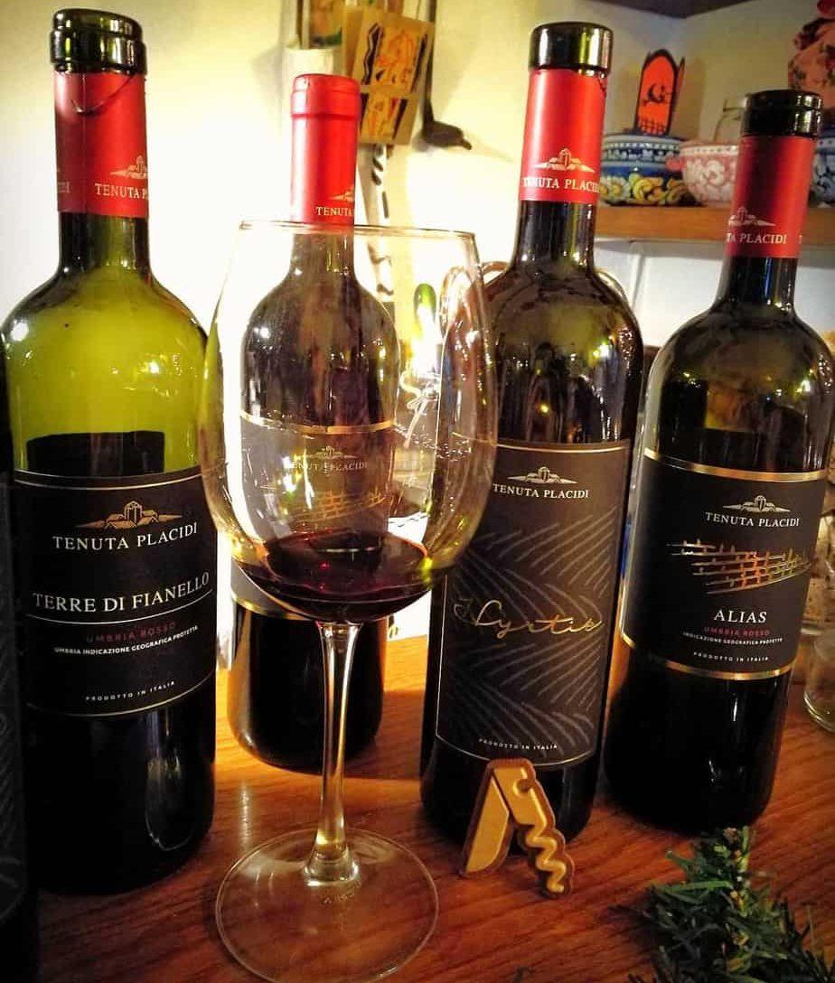 Vini rossi della Tenuta Placidi