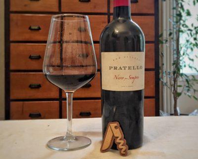 Degustando il Benaco bresciano Rosso IGT Nero per Sempre 2015 di Aziedìnda Agricola Pratello