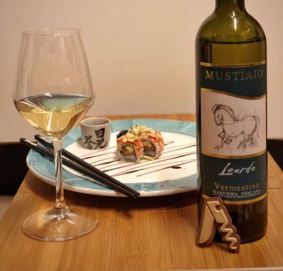 Degustazione del Maremma Toscana Vermentino DOC Leardo di Mustiaio