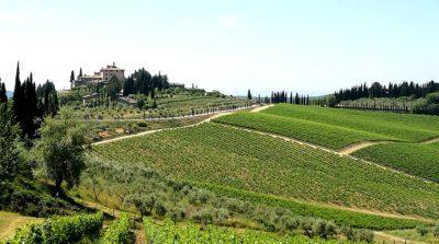 Tenuta Perano di Frescobaldi a Gaiole in Chianti