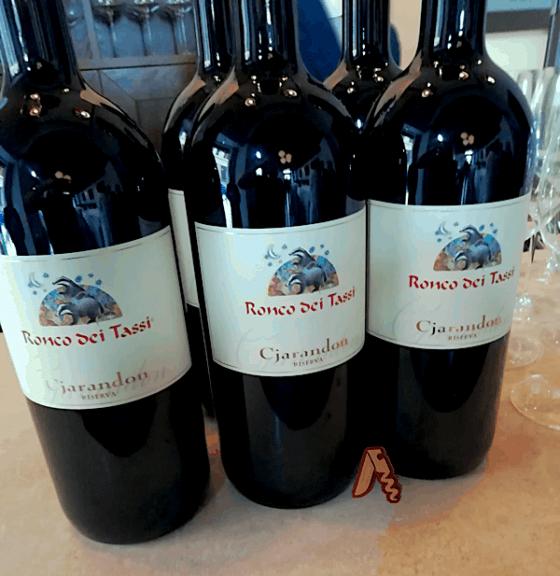 I vini di Rocco dei Tassi in Degustazione al Pipero