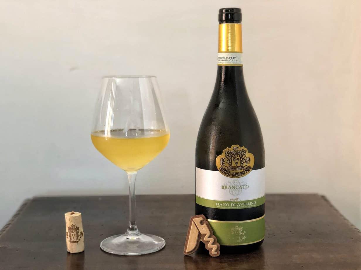 Recensione del Fiano di Avellino DOCG Brancato 2016 di Tenuta Cavalier Pepe