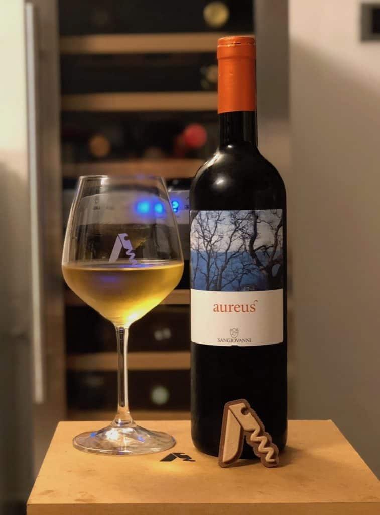Bottiglia di Aureus dell'azienda agricola san giovanni