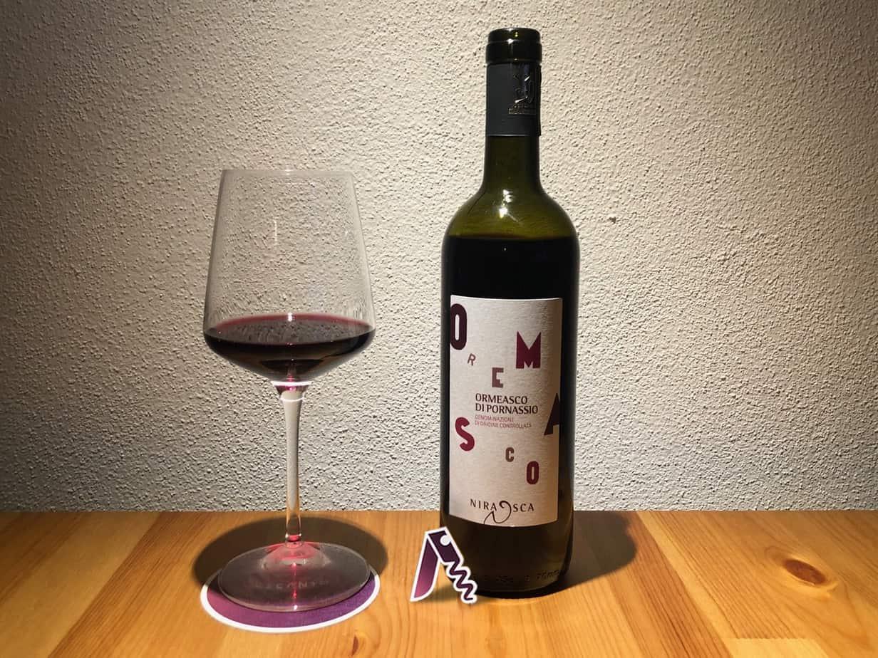 Degustazione dell'Ormeasco di Pornassio DOC di Cascina Nirasca