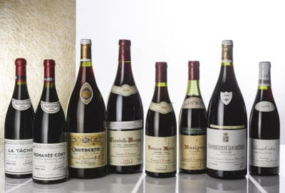 50 vini costosi