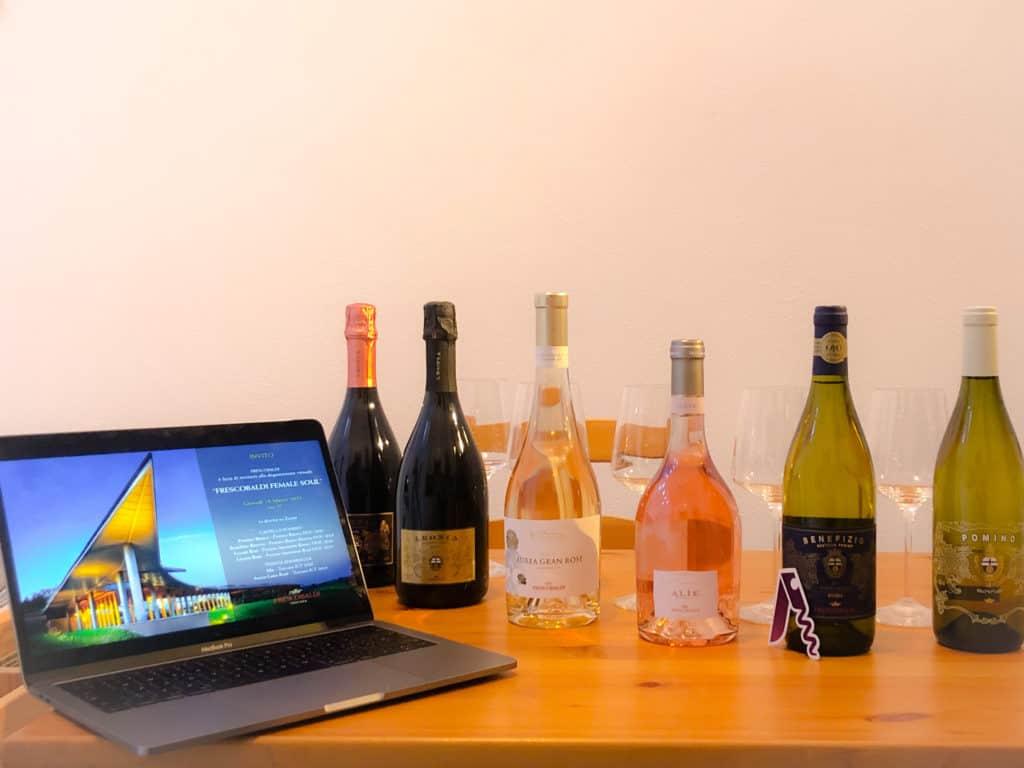 l'anima femminile del vino Frescobaldi