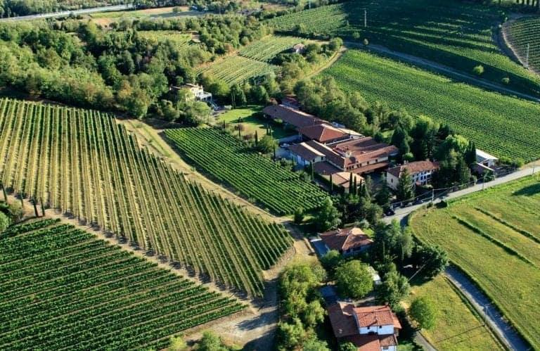 La sede storica di Jermann a Villanova di Farra d'Isonzo