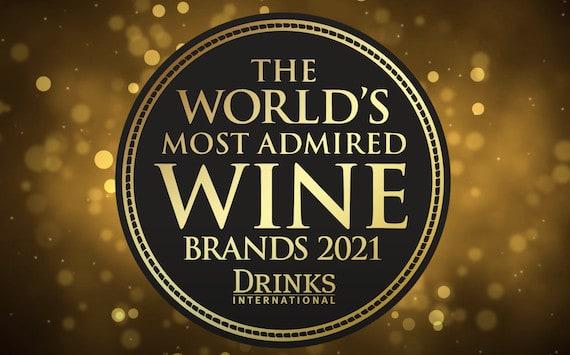The World's Most Admired Wine Brands 2021: sei marchi italiani in lista