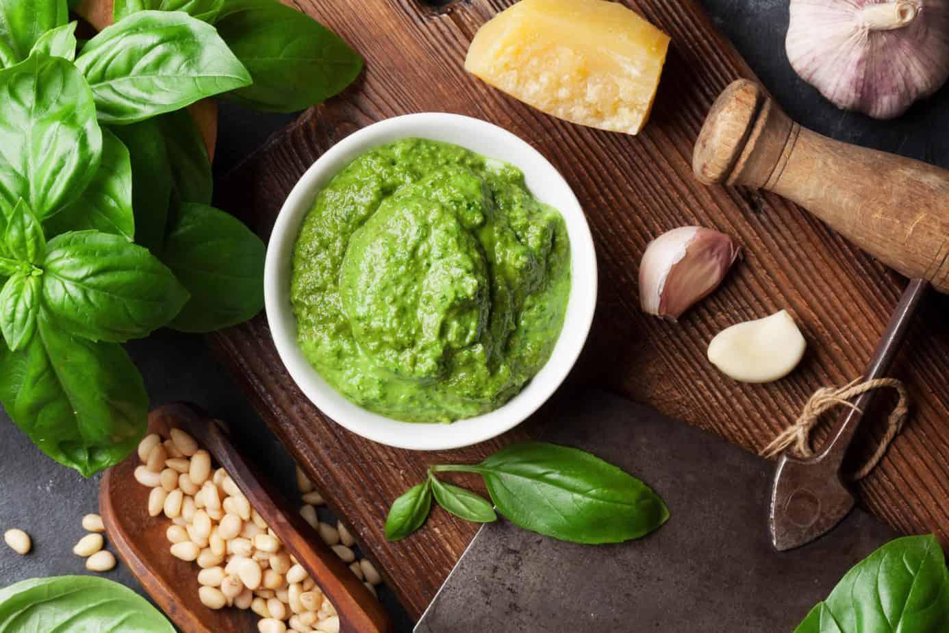 Pesto recipe wine pairing