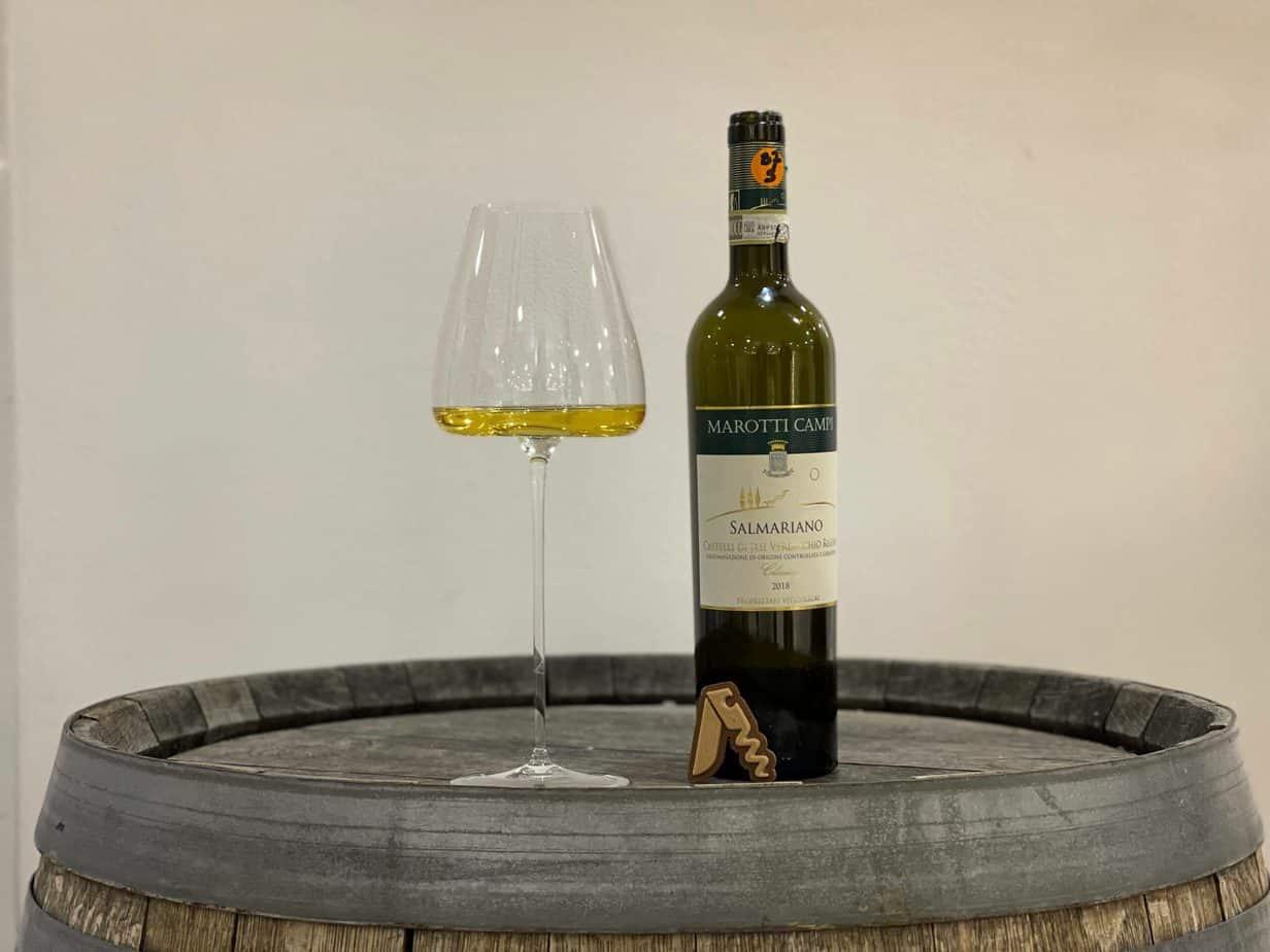 """Marotti Campi - Verdicchio dei Castelli di Jesi Classico Riserva """"Salmariano"""", 2018"""