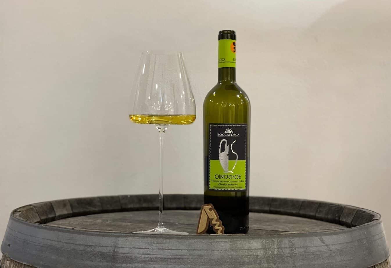 """Boccafosca - Verdicchio dei Castelli di Jesi Classico Superiore """"Oinochoe"""", 2017"""
